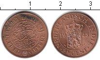 Изображение Монеты Нидерланды Нидерландская Индия 2 1/2 цента 1945 Медь XF