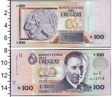 Изображение Боны Уругвай 100 песо 2008  UNC-