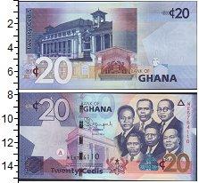 Изображение Банкноты Гана 20 седи 0  UNC-