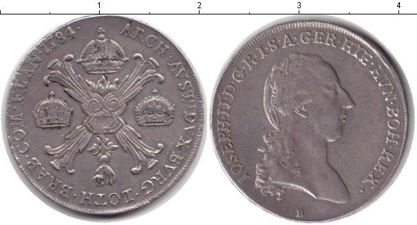 Картинка Монеты Габсбург 1 талер Серебро 1784