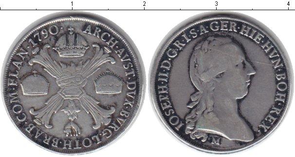Картинка Монеты Габсбург 1 талер Серебро 1790