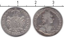 Изображение Монеты Австрия 1/2 талера 1754 Серебро XF Мария Терезия