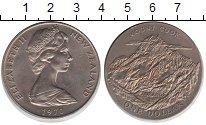 Изображение Монеты Новая Зеландия 1 доллар 1970 Медно-никель UNC- Гора Кука