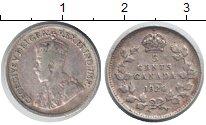 Изображение Монеты Канада 5 центов 1920 Серебро VF Георг V