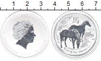Изображение Мелочь Австралия 50 центов 2014 Серебро Proof Елизавета II. Год ло