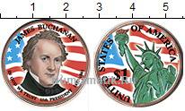 Изображение Цветные монеты США 1 доллар 2010 Медно-никель UNC- 15-й президент США Д