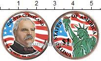 Изображение Цветные монеты США 1 доллар 2012 Медно-никель UNC- 22-й президент США Г