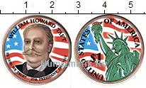 Изображение Цветные монеты США 1 доллар 2013 Медно-никель UNC- 27-й президент США У