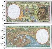 Изображение Боны Чад 1000 франков 0  UNC- C