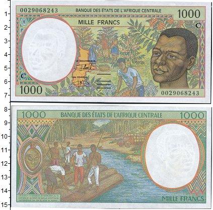 Картинка Боны Чад 1.000 франков  0