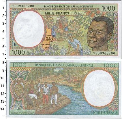 Картинка Боны Экваториальная Гвинея 1.000 франков  0
