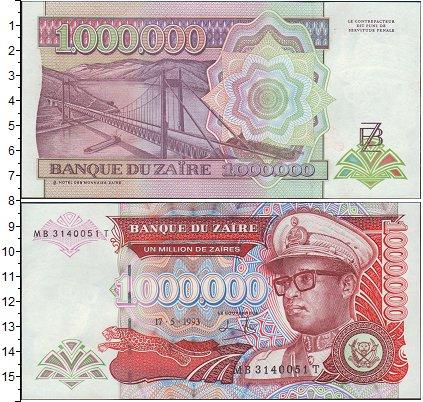 Картинка Боны Заир 1.000.000 заир  0