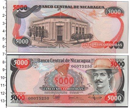 Картинка Банкноты Никарагуа 5.000 кордоб  0