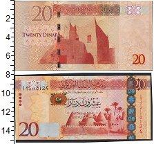Изображение Банкноты Ливия 20 динар 0  UNC-