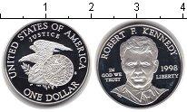 Изображение Монеты США 1 доллар 1998 Серебро Proof- Роберт Кеннеди