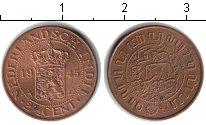 Изображение Монеты Нидерланды Нидерландская Индия 2 1/2 цента 1945  UNC-