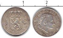 Изображение Монеты Нидерланды 1 гульден 1967 Серебро XF Юлиана