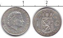 Изображение Монеты Нидерланды 1 гульден 1963 Серебро XF Юлиана