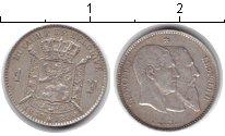 Изображение Монеты Бельгия 2 франка 1880 Серебро XF