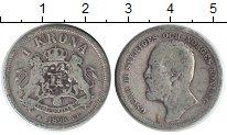 Изображение Монеты Швеция 1 крона 1898 Серебро XF Оскар II