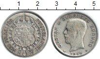 Изображение Монеты Швеция 1 крона 1940 Серебро XF Густав V