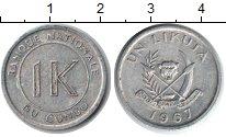 Изображение Монеты Конго 1 ликута 1967 Алюминий