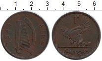 Изображение Монеты Ирландия 1 пенни 1948 Медь XF