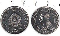 Изображение Монеты Гондурас 50 сентаво 1994 Медно-никель UNC FAO