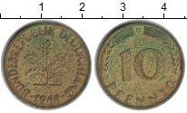 Изображение Монеты ФРГ 10 пфеннигов 1969  XF