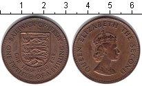 Изображение Монеты Остров Джерси 1/12 шиллинга 1960 Медь XF