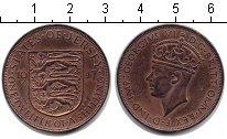 Изображение Монеты Остров Джерси 1/12 шиллинга 1947 Медь XF