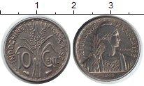 Изображение Монеты Индокитай 10 сантимов 1940 Медно-никель XF
