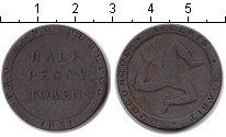 Изображение Монеты Остров Мэн 1/2 пенни 1831 Медь VF