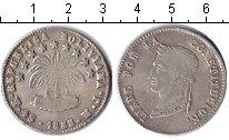 Изображение Монеты Боливия 4 соля 1855 Серебро XF
