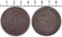Изображение Монеты Бразилия 960 рейс 1812 Серебро XF