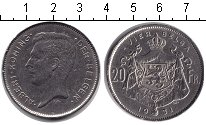 Изображение Монеты Бельгия 20 франков 1931 Медно-никель XF Альберт