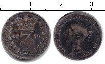 Изображение Монеты Великобритания 3 пенса 1876 Серебро VF Виктория
