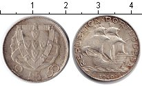 Изображение Монеты Португалия 2 1/2 эскудо 1940 Серебро XF