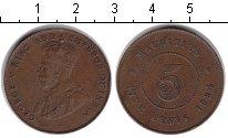 Изображение Монеты Маврикий 5 центов 1924 Медь XF