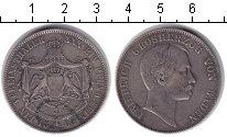 Изображение Монеты Баден 1 талер 1860 Серебро VF Фридрих