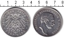 Изображение Монеты Саксония 5 марок 1907 Серебро UNC-