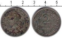 Изображение Монеты Веймарская республика 2 марки 1926 Серебро VF
