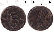 Изображение Монеты Остров Джерси 1/12 шиллинга 1911 Медь VF