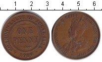 Изображение Монеты Австралия 1 пенни 1919 Медь XF Георг V