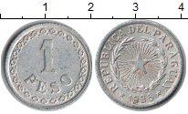 Изображение Монеты Парагвай 1 песо 1938 Алюминий XF