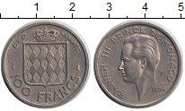 Изображение Монеты Монако 100 франков 1956 Медно-никель XF