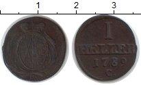 Изображение Монеты Саксония 1 геллер 1789 Медь VF