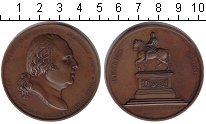 Изображение Монеты Франция настольная медаль 1817 Медь XF Генрих Магно. Людови