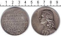 Изображение Монеты Австрия настольная медаль 1805 Серебро XF Фридрих Шиллер
