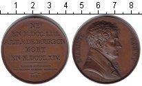 Изображение Монеты Франция настольная медаль 1822 Медь XF Эварист Парни